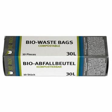 Bio4Pack Abfallbeutel 100% kompostierbar, 30 Liter