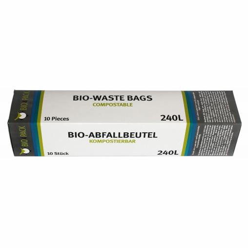 Bio4Pack Abfallbeutel 100% kompostierbar, 240 l