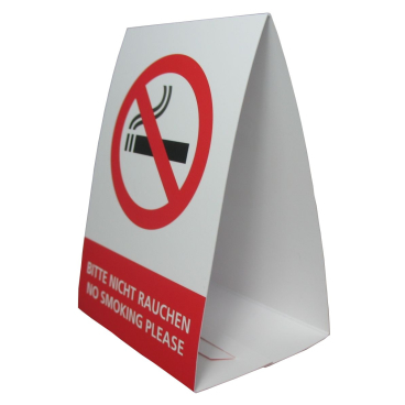 Sauvage Accessoires Nichtraucher-Schild