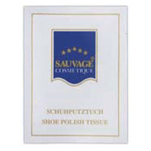 Sauvage Accessoires Schuhglanztuch im Sachet
