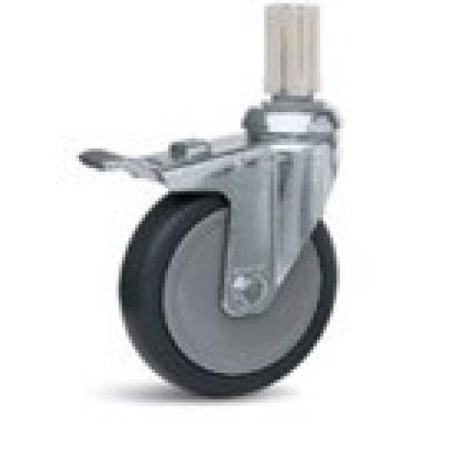 Lenkrolle Metall mit Feststellbremse