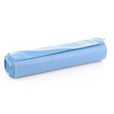 Müllsäcke 70 Liter, blau, 34 my (Typ 60) 1 Karton = 10 Rollen à 25 Stück