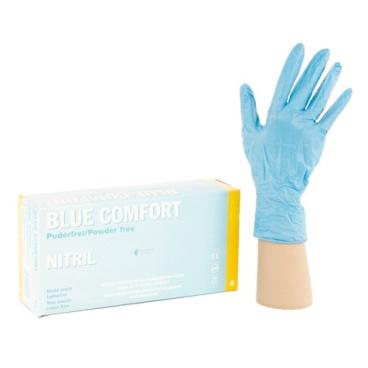 Blue Comfort Einmalhandschuhe Nitril