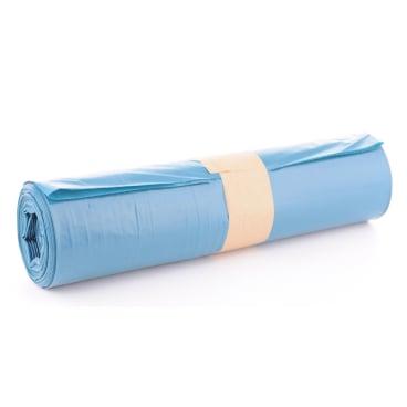 Müllsäcke 120 Liter, blau, Typ 70 1 Karton = 10 Rollen à 25 Stück