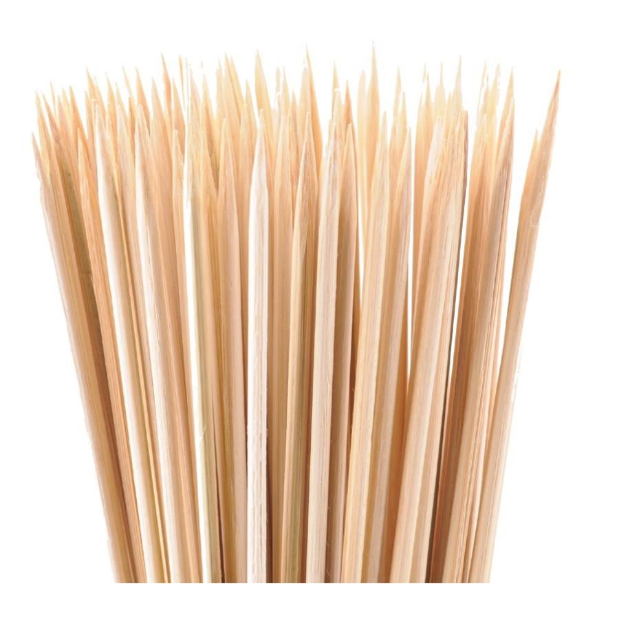 schaschlikspieße aus bambusholz, 1 packung = 100 stück online kaufen