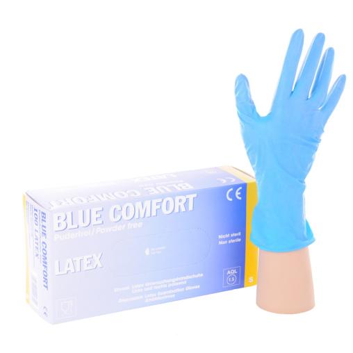 Blue Comfort Einmalhandschuhe