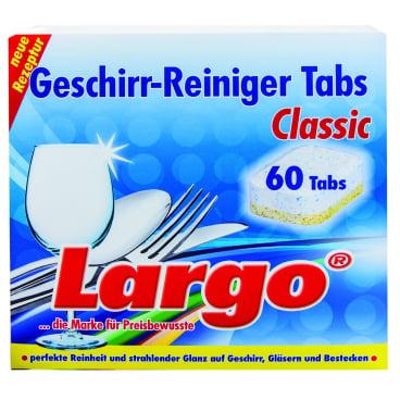 LARGO Geschirr-Reiniger Tabs Classic