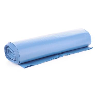 Müllsäcke 120 Liter, blau, Typ 100 1 Karton = 10 Rollen à 15 Stück