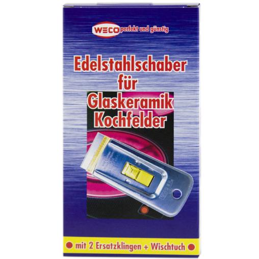 WECO Edelstahlschaber-Set