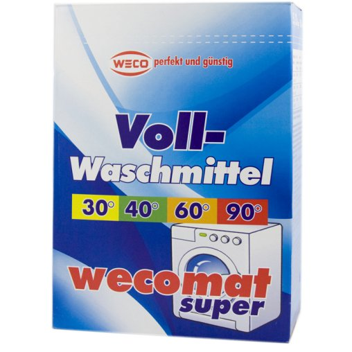 Wecomat Compact Super-Vollwaschmittel