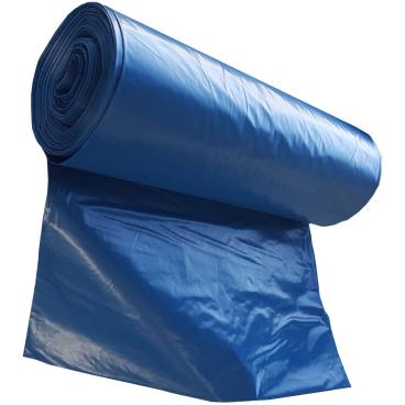 Müllsäcke 120 Liter, blau, Typ 80 1 Karton = 10 Rollen à 25 Stück, blau