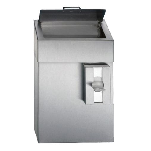 CWS Hygienebehälter, Edelstahl