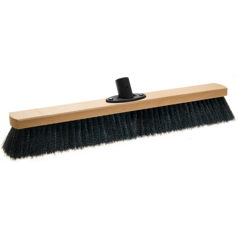 Saalbesen 60 cm mit Haar-Mischung und Quick-fest-Halter