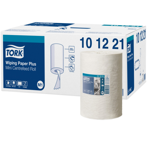 Tork Advanced Wischtuch 420, 2-lagig, weiß