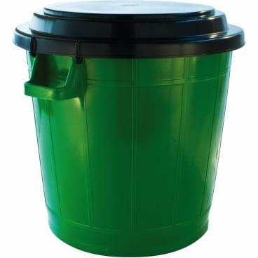 Universalbehälter (70 Liter) mit schwarzem Deckel