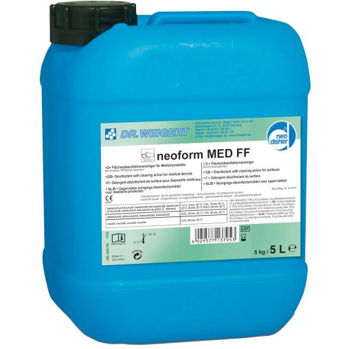 Dr. Weigert neoform MED FF Flächendesinfektionsreiniger