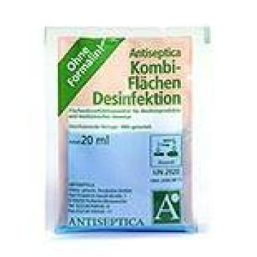 Antiseptica Kombi Flächendesinfektion 1 Karton = 100 Dosierbeutel à 20 ml