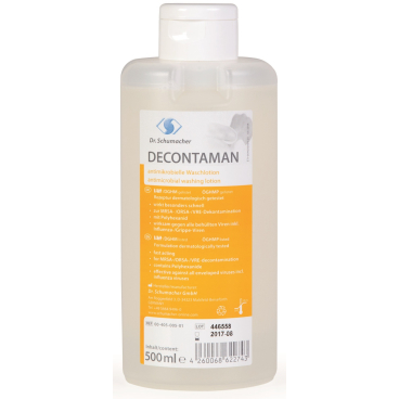 Dr. Schumacher DECONTAMAN Waschlotion 500 ml - Spenderflasche