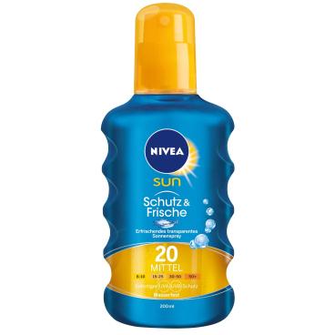 NIVEA® Sun Schutz & Frische transparentes Sonnenspray