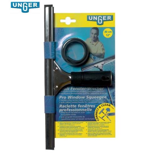 UNGER Consumer Edelstahl Fensterwischer Plus