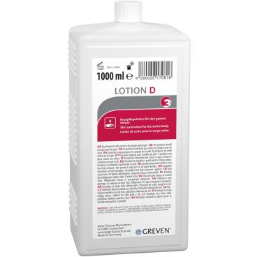 Peter Greven GREVEN® LOTION D Pflegelotion, parfümiert 1000 ml - Flasche