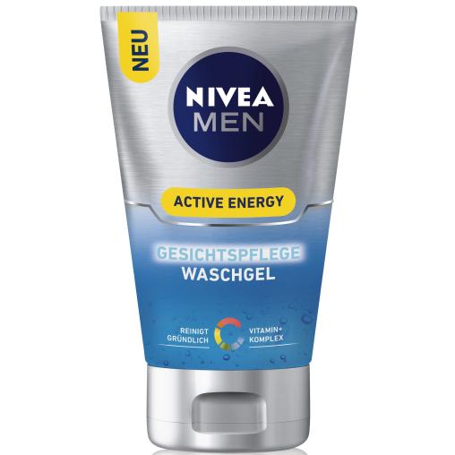 NIVEA® Men Active Energy Gesichtspflege Waschgel