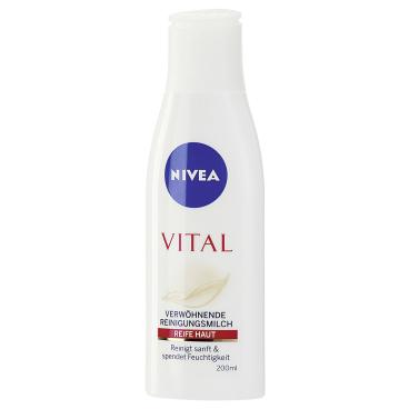 NIVEA® Face Vital Verwöhnende Reinigungsmilch