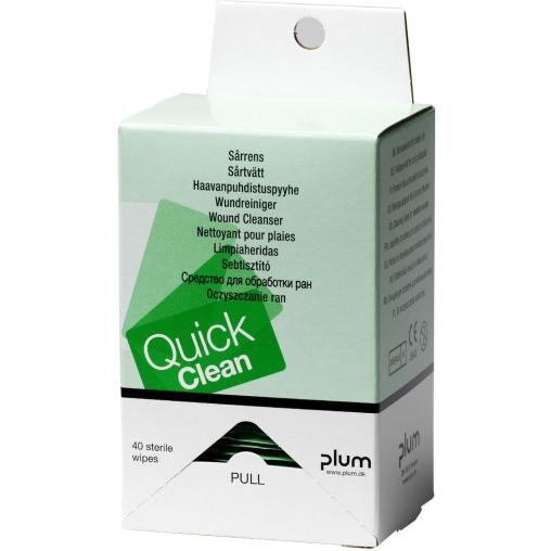 Plum QuickClean Wundreinigungstücher