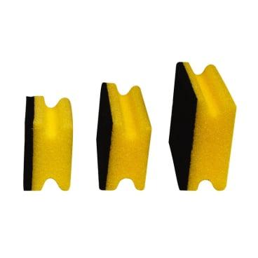 Meiko Padschwämme Topfreiniger mit Griff Format: 15 x 9,5 x 4,5 cm