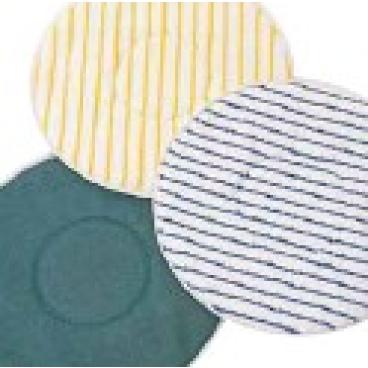 "Meiko Textilpads, 16"" - Ø 406 mm Farbe: blau/weiß, Microborstenpad soft"