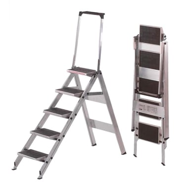 Zarges Plazamax P Sicherheitstreppe, klappbar