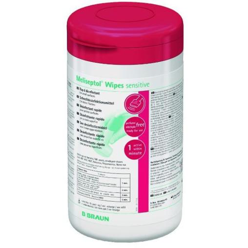 B. Braun Meliseptol® Wipes sensitive Desinfektionstücher