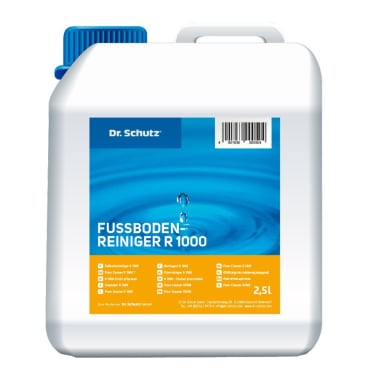 Dr. Schutz® R 1000 Fußbodenreiniger 2,5 l - Kanister