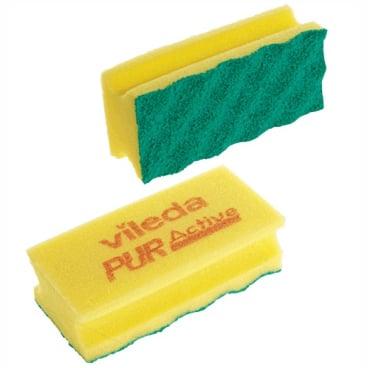 Vileda PUR active SchwammProfi Farbe: gelb