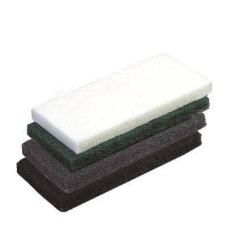 Vileda Professional Handpad Super, 12 x 26 cm 1 Packung = 5 Stück, grau, für die Reinigung von Sicherheitsböden