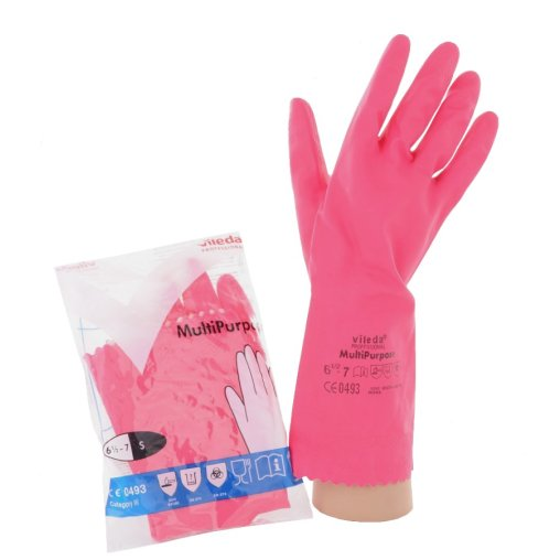 Vileda Professional Multipurpose Handschuh - Der Feine, rot