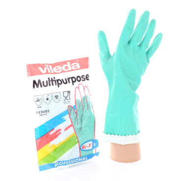 Vileda Professional Multipurpose Handschuh - Der Feine, grün Größe: S (7)