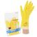 Produktbild: Vileda-Handschuhe - Naturlatex mit Innenbeflockung