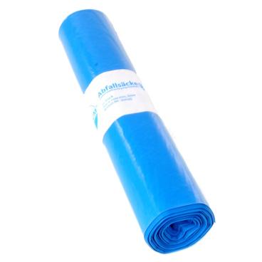 DEISS PREMIUM Abfallsack 120 Liter, blau, Typ 60