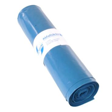 DEISS PREMIUM Abfallsack 120 Liter, blau, Typ 100