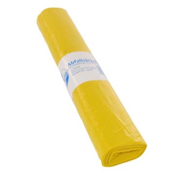 DEISS ECOFINE Abfallsack 120 Liter, gelb, Typ 60