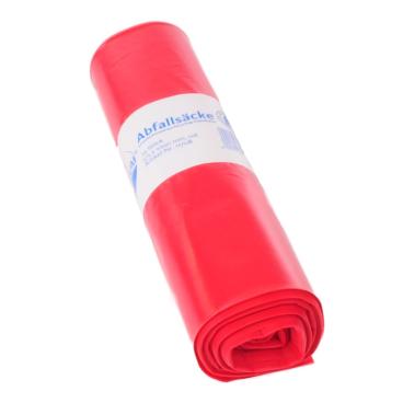 DEISS PREMIUM Abfallsack 70 Liter, rot, Typ 100