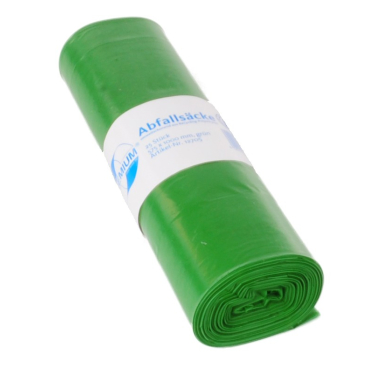 DEISS PREMIUM Abfallsack 70 Liter, grün, Typ 100
