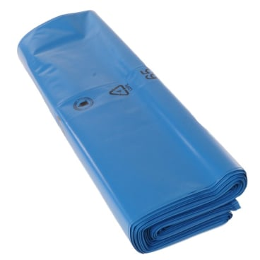 DEISS PREMIUM Abfallsack 180 Liter, blau, 100µ