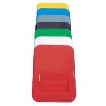 Kunststoffdeckel, rechteckig rot