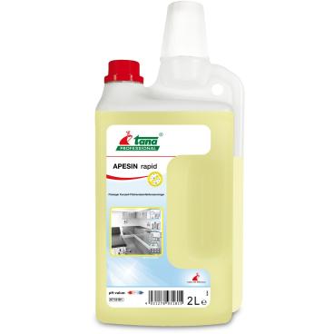 TANA APESIN rapid Desinfektionsreiniger 1 Karton = 4 x 2000 ml - Nachfüllflasche