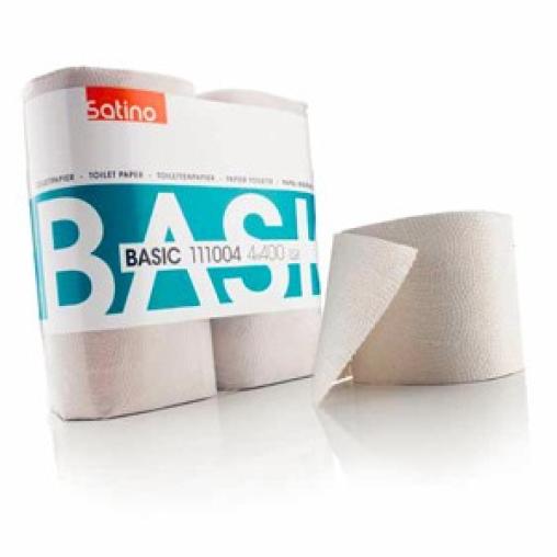 SATINO BASIC naturell Toilettenpapier