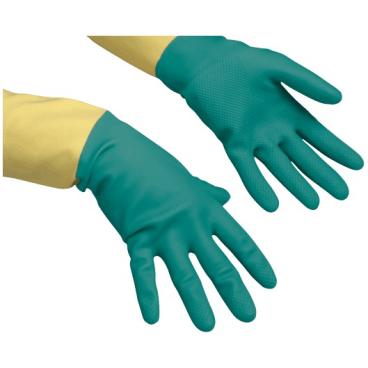 Vileda-Handschuhe Naturlatex + Neoprenbeschichtung Größe: M (8)