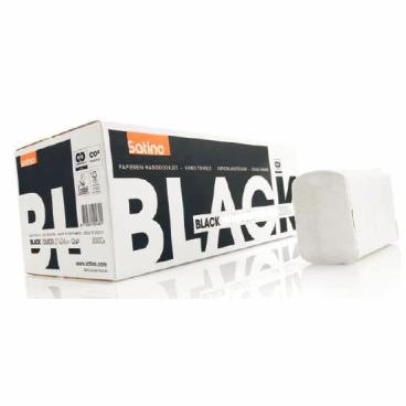 SATINO Black Handtuchpapier, 21 x 24 cm