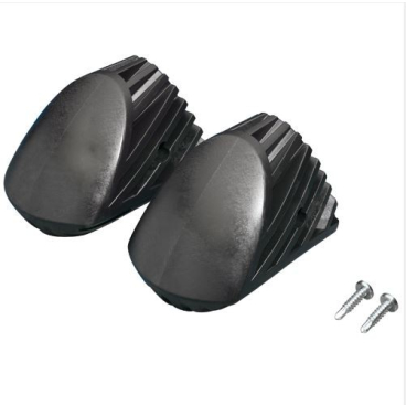 Hailo Kunststoff - Füße (schwarz)